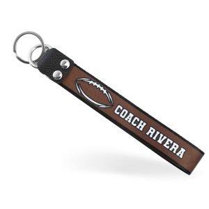 football-coach-keychain