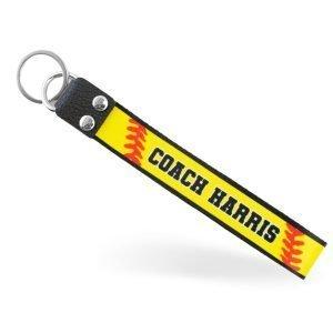 softball-coach-keychain
